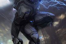 Cyberpunk / Suits & stuff