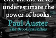 Paul Auster, my hero / En sevdiğim yazar