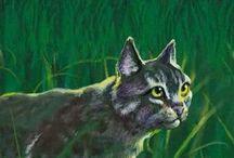 Warrior Cats / Van Warrior Cats zijn twee serie´s met in elke serie twaalf boeken. In het woud leven allemaal katten die in Clans leven. De Donderclan, Rivierclan, Schaduwclan, en Windclan. Ze hebben ook voorouders: De Sterrenclan. Samen maken ze van alles mee.