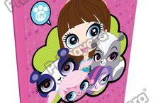 Cuadernos Littlest Pet Shop / Línea Escolar Primavera Regresa a Clases con TODO