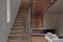 escadas internas sala