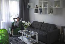 Scandinavian style / room 14 m