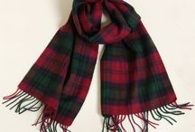 Tartan 100% Lambswool Scarves / Our new collection of contemporary tartan scarves. Tartan scarf, spring fashion, men's fashion, women's fashion. Plaid scarf, check scarf.