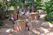 Outdoor Learning / Learning spaces move beyond the bricks and mortar of the classroom as an extension of the work we are engaged in with our teaching parnters and our children. / by Rose Walton