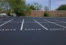 Parking Lot Stenciling