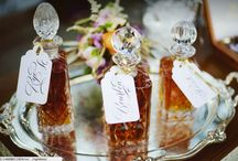 Wedding Colour Scheme - Rustic Vibrancy / Wedding Colour Scheme Inspiration, including rich rustic colours such as oaky browns and golds mixed with moody vibrancy like deep purples and dark oranges.