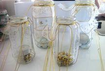Christmas Jar Lights / Creating beautiful Christmas Tree lights out of items around the house.