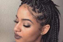 Tranças e penteados black