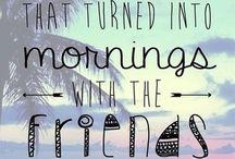 Girlfriends / Friends