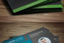 Print design / Business cards, stationary, printed stuff