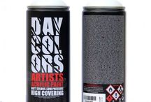 Bombe de peinture Daycolors spray graffiti / BOMBES DE PEINTURE DE POINT GRAFF. https://goo.gl/1h9PBJ