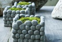 Pebble stone works