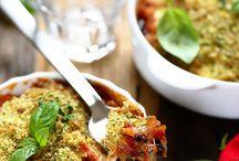 repas italien aubergines