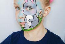 # 14 Ansiktsmaling / Facepaint  Påske / Easter