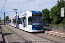 Rostocker Straßenbahn AG >> Duewag / DWA 6NGTWDE / Sie sehen hier eine Auswahl meiner Fotos, mehr davon finden Sie auf meiner Internetseite www.europa-fotografiert.de.