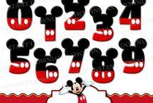 Mickey mouse szülinapi party
