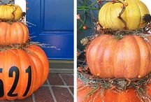 DIY STACKED PUMPKINS
