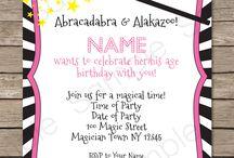 Magic Birthday Party Theme