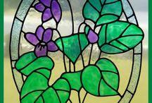 pittura su vetro