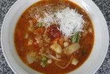 Soups on / by Linn Gaspar