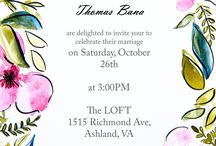 Wedding invitations / by Aniko @ PlaceOfMyTaste