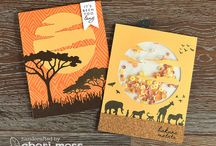 Cards African wildlife