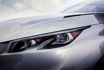 Peugeot Onyx & Quartz / Auta, których sylwetki są prezentowane w tekstach poświęconych estetyce. / Cars which profiles are presented in articles about aesthetics.