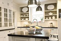 Dream Kitchens / Granite, butcherblock, stainless steel, subway tiles... what would you have in YOUR dream kitchen?