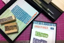 Undefined / Projects using Undefined-Make your own stamp by Stampin' Up!