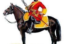Dragoons in 18th c.