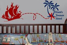Pirate Themed Kids Rooms / Fun Pirate Ideas for kids rooms