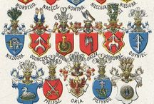 Polish Coats of Arms / Coats of arms, hereditary graphic signs identifying families of nobility, first appeared in Poland in the 13th century. The Polish use of these signs differed in some aspects from what was typical in other countries - a single coat of arms may have been used by numerous Polish families.