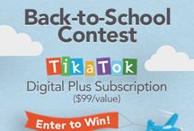 Teachability  TikaTok Back-to-School Contest / Each week until the end of October 2014 we'll be giving away a Digital Plus Subscription of TikaTok a digital classroom publishing studio for students to write and illustrate their own digital and printed books.