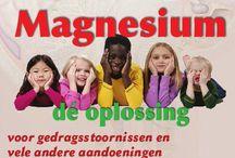 Magnesium zeer belangrijk