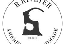 Portfolio R. Riveter / We had the amazing opportunity to redesign for R. Riveter, an incredible company that allows military spouses to start their own business fabricating R. Riveter handbags and accessories.
