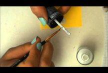 nail art lapin