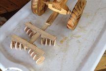 hračky z dreva