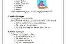 Svenska: läsa olika typer av texter