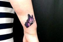 Tatoo borboleta