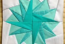 Quilting paper piecing