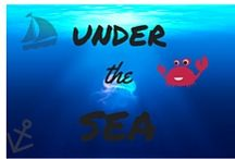 Under The Sea / Who doesn't want to be a mermaid and live with the fishies?