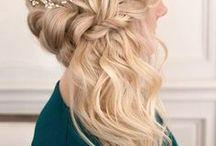 Idées cheveux longs montage