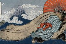 ✨Kami & Yokaï✨ / Monsters, ghosts, spirits and magical creatures from japenese folklore.