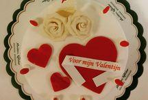 Valentijnsdag / Onze heerlijke Valentijnstaarten en -gebakjes