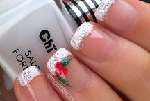 Christmas nails / by Jamie Makrianes