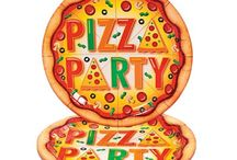 Pizza Party / Everyone loves a Pizza Party with our awesome range of pizza themed tableware, decorations, novelties and pizza games! Perfect for birthday parties, sleepovers or just a weekend get together.