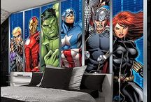 Bedroom - Avengers