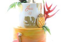 tropicsl cakes