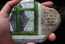 Pica piedrarte / Arte en las piedras