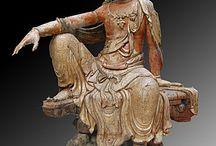 Chine - Bhodisattva dynastie Jin
